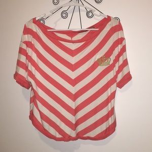 👑 Juicy Couture Striped Top